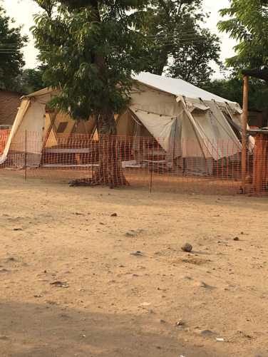 Cholera Tent