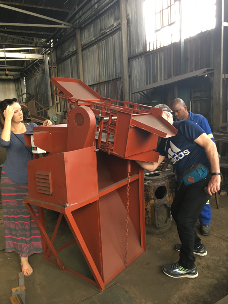 Sand sorting machine
