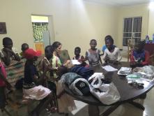 Preparing volunteer gifts
